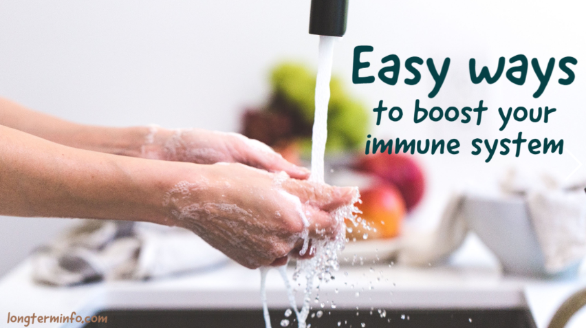 Strong immune system & easy ways to boost it