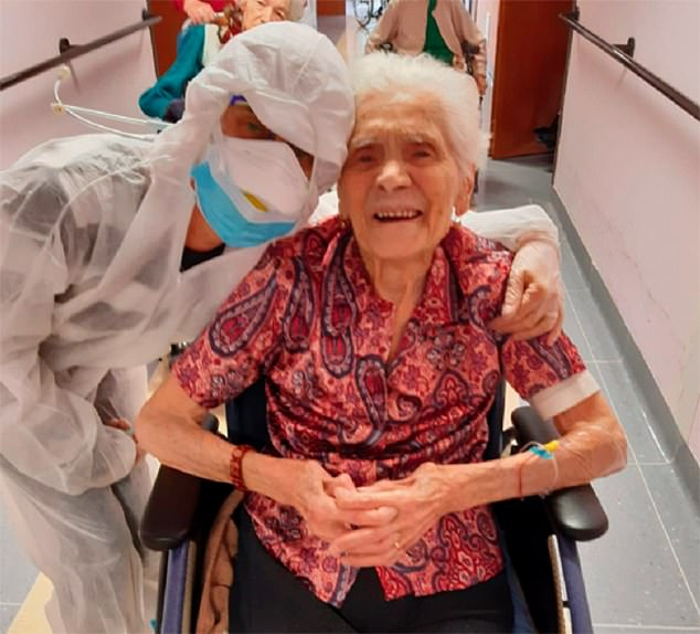 104-year-old woman - the eldest person who recovered from COVID-19
