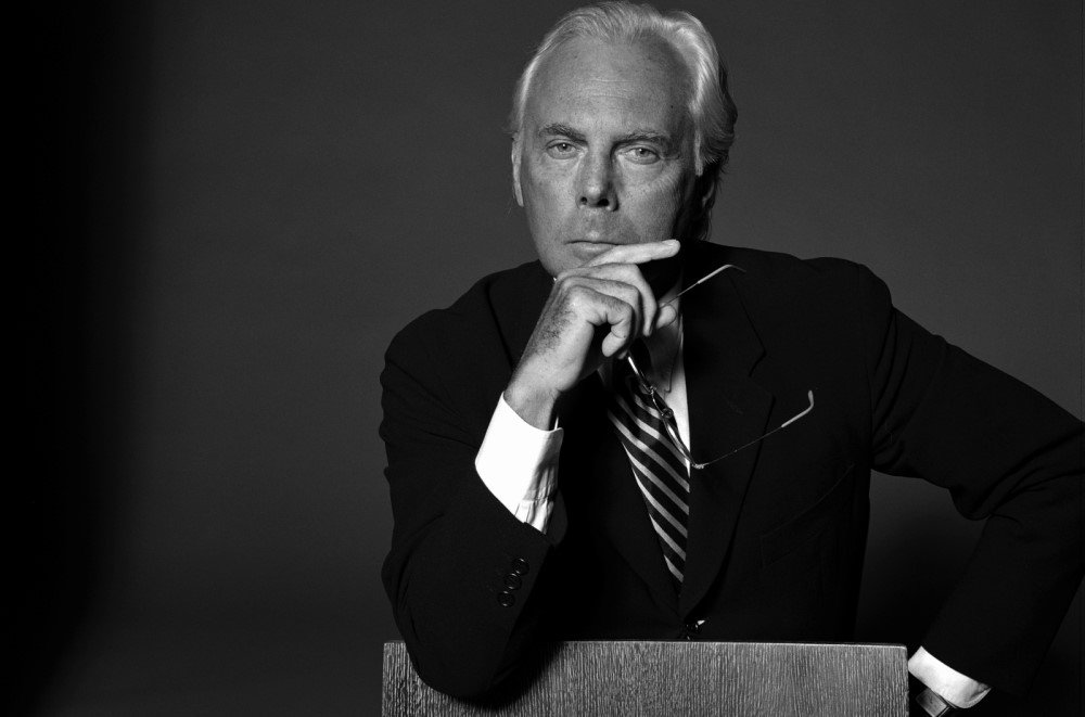 Fashion and style recommendations from Giorgio Armani