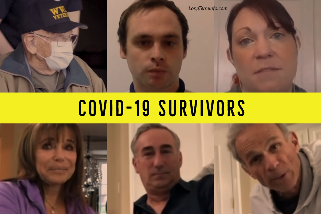 COVID-19 survivors share their stories