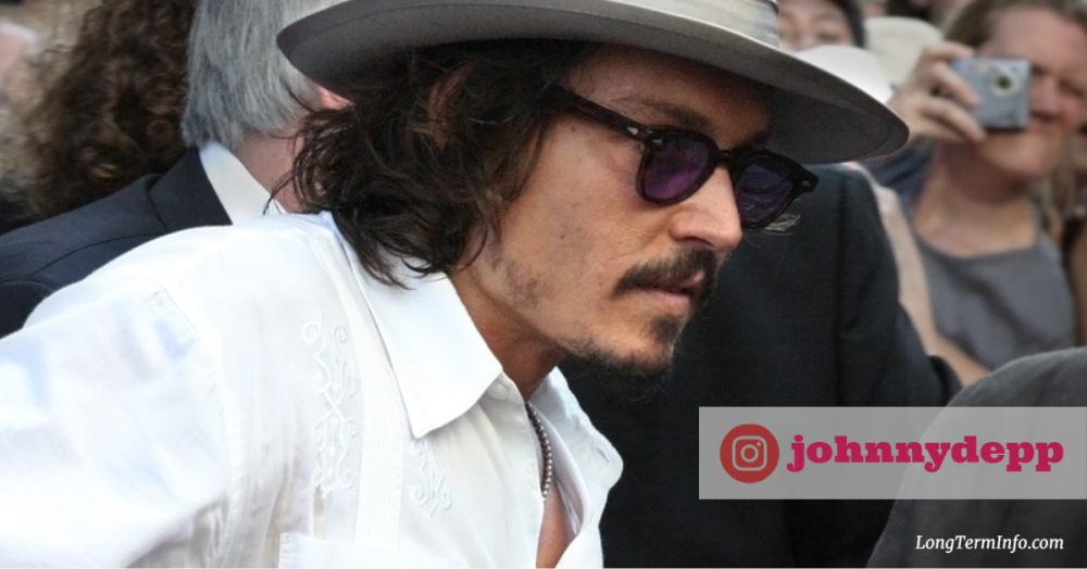 Johnny Depp joined Instagram