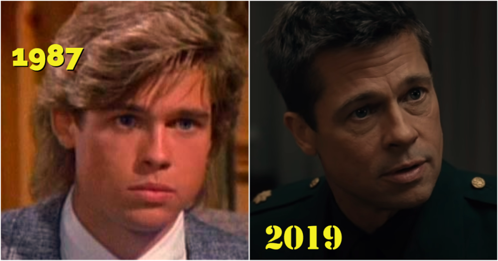 Now and then – A-list actors in their first and last movies