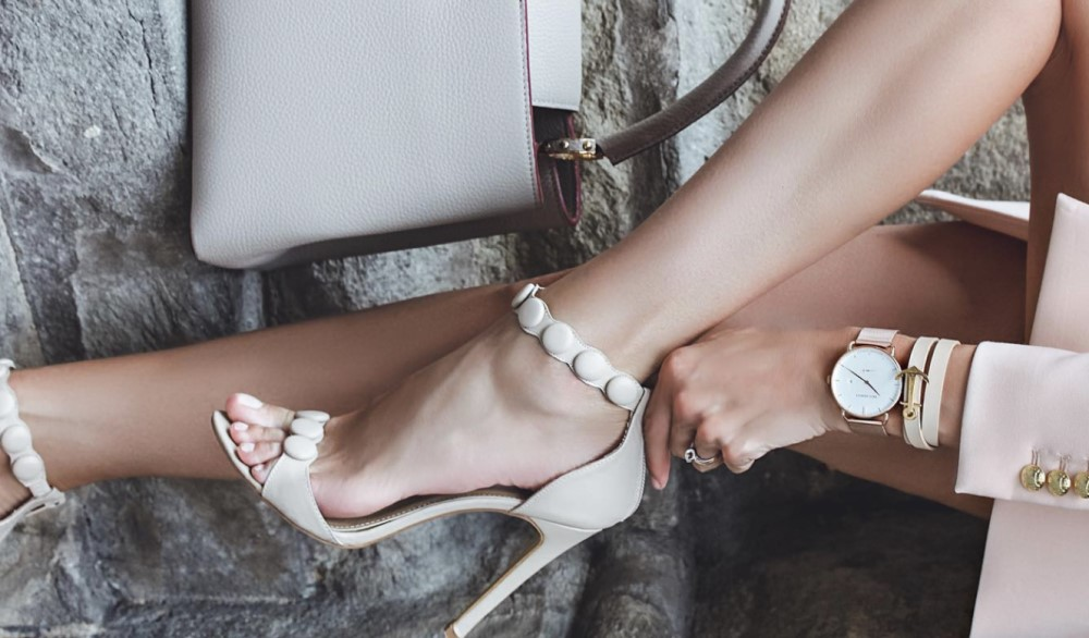 nude color shoes