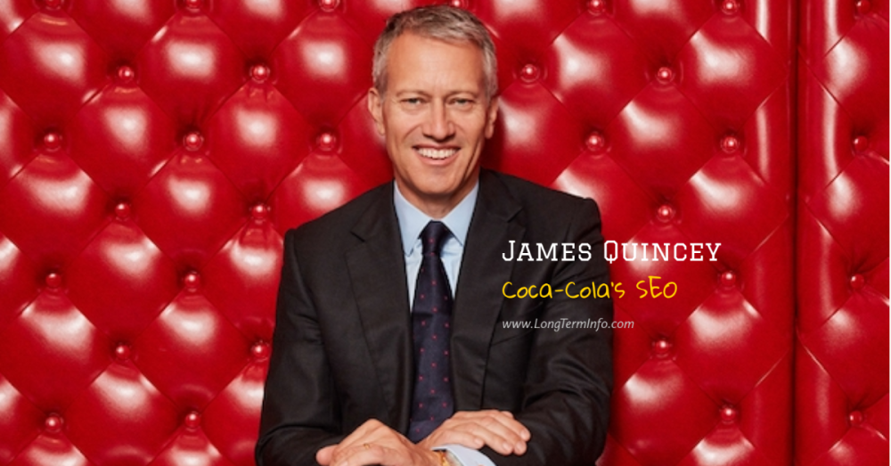 Coca-cola SEO James Quincey